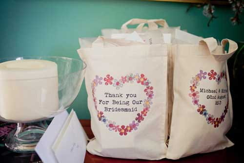 Wedding Gift Bags At Michaels : The bags come in 3 sizes and Miriam chose the smallest size - perfect ...