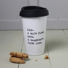 Travel Mug - Personalised Fathers Quote