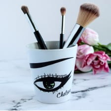 Make Up Brush Pot - Personalised