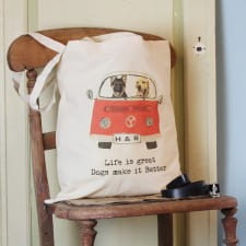 Tote Bag - Your Dog in a Campervan